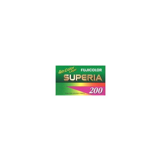 Fujifilm Superia 200 35MM 36 Exposure