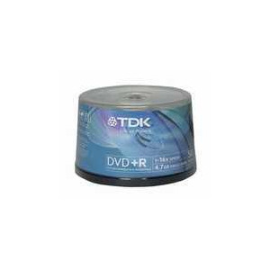 Photo of TDK DVD+R 47 Pack Cakebox   DVD R