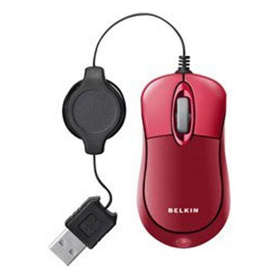 Belkin F5L016NG USB Retractable Mini Mouse