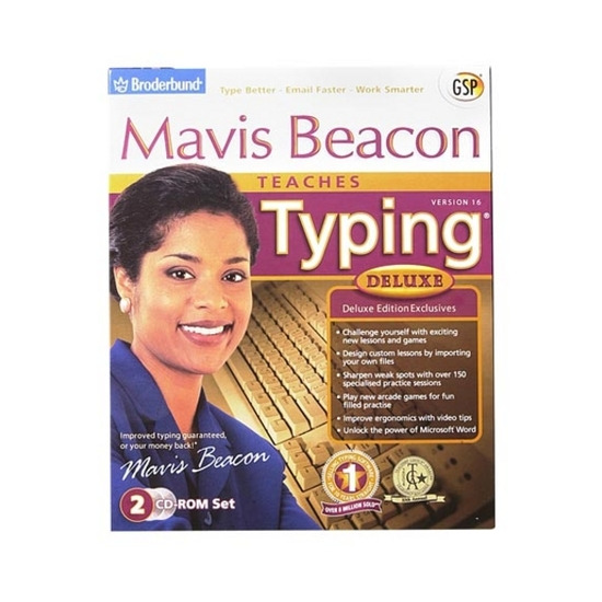 Mavis Beacon Teaches Typing 16 Deluxe