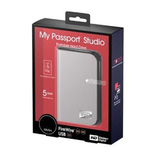 Western Digital My Passport Mac 320GB