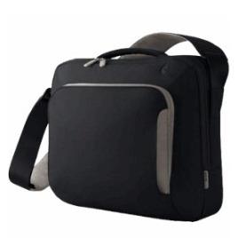 Belkin Neoprene Messenger Bag 17 inch  Pitch Black/Soft Grey Reviews