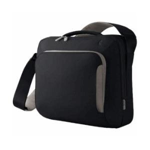 Photo of Belkin Neoprene Messenger Bag 17 Inch  Pitch Black/Soft Grey Laptop Bag