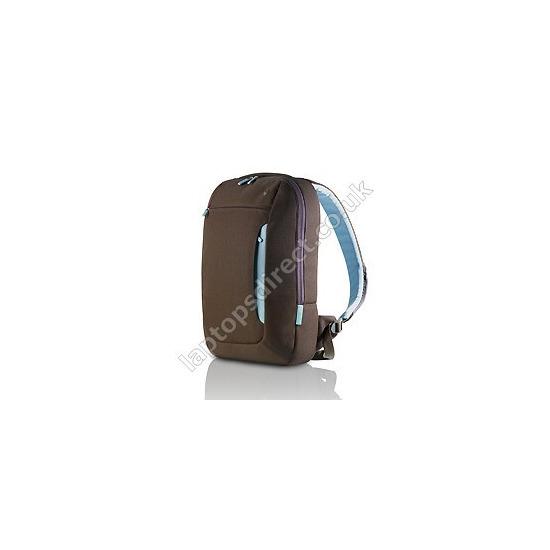 Belkin Impulse Line Slim Back Pack 17inch  - Chocolate/Tourmaline