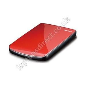 Photo of Buffalo MiniStation Lite 500GB USB 2.0 Portable Hard  Drive (Red) USB Memory Storage