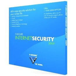 F-Secure Internet Security 2009 OEM LD Logo Reviews