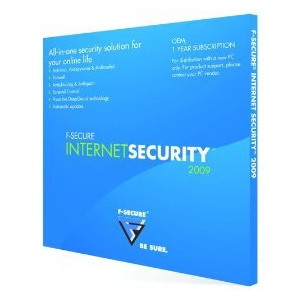 Photo of F-Secure Internet Security 2009 OEM LD Logo Software