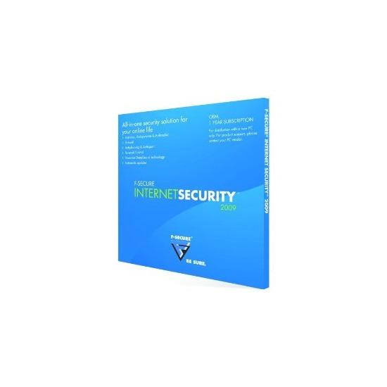 F-Secure Internet Security 2009 OEM LD Logo