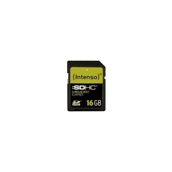 Intenso 16GB Secure Digital SDHC Card