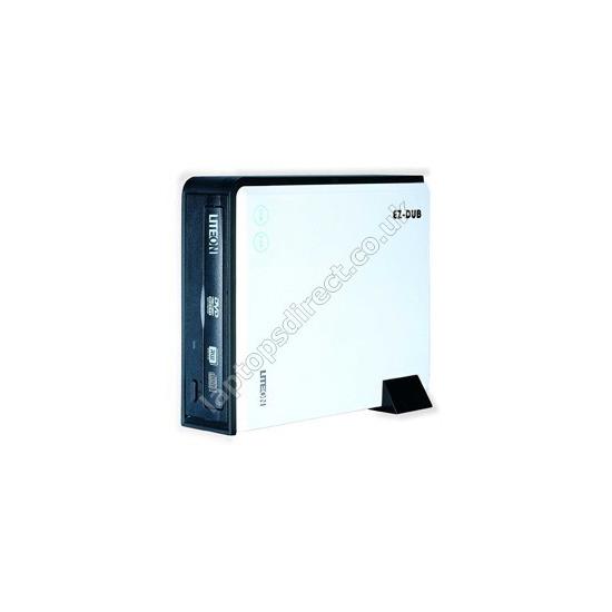 LiteOn eSAU208 - DVD±RW (±R DL) / DVD-RAM drive - Hi-Speed USB