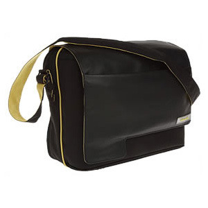 Photo of Tech Air - Messenger Bag 15.4 Inch - Lack and Yellow Laptop Bag