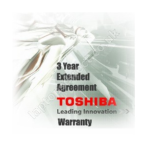 Photo of Toshiba Extended Service Agreement - 2 Years Laptop Accessory
