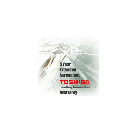 Toshiba extended service agreement - 2 years
