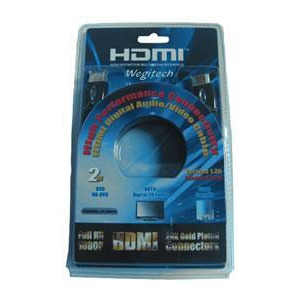 Photo of LG Wegitech 2M HDMI Cable, 1.3B Version, High Performance Connectivity HDMI Lead