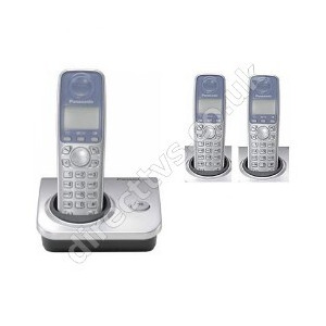Photo of Panasonic DECT Phone With Speaker Phone and 50 Name and Number Phonebook Landline Phone