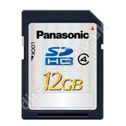 Panasonic RP-SDP12GE1K 12GB SDHC Memory Card Reviews