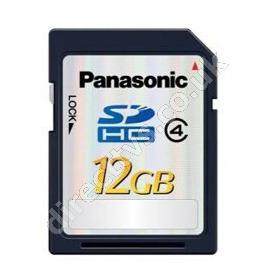 Panasonic RP-SDP12GE1K 12GB SDHC Memory Card Reviews