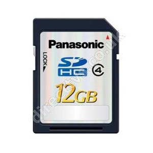 Photo of Panasonic RP-SDP12GE1K 12GB SDHC Memory Card Memory Card
