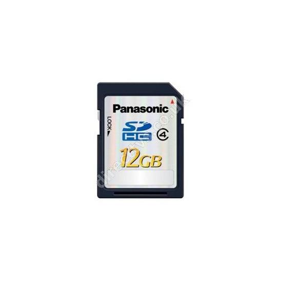Panasonic RP-SDP12GE1K 12GB SDHC Memory Card
