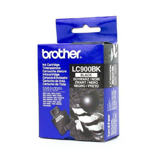 Brother LC900 Black Printer Ink Cartridge, LC900