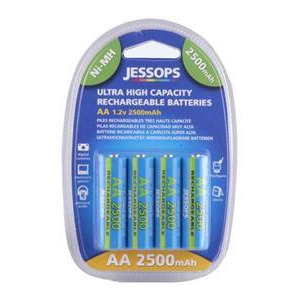 Photo of Jessops Nickel Metal Hydride Batteries AA 2500MAH Pack Of 4 Battery
