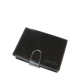 Black Leather Stand Case for iPod 5G, 160GB