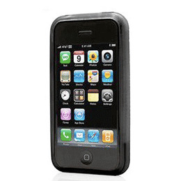 GrooveShield Form iPhone 3G Black