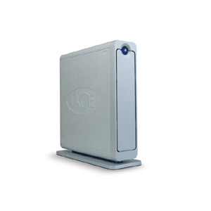 Photo of LaCie 500GB Ethernet Disk Mini Home Gigabit External Hard Drive
