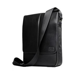 """Photo of Knomo Stirling 13"""" Messenger Bag Black Back Pack"""