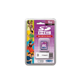 Integral 16GB Class 6 SDHC Memory Card Reviews