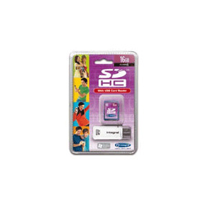 Photo of Integral 16GB Class 6 SDHC Memory Card Memory Card