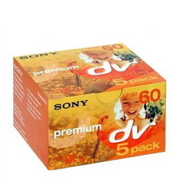 Sony MiniDV Premium 5 pack Reviews