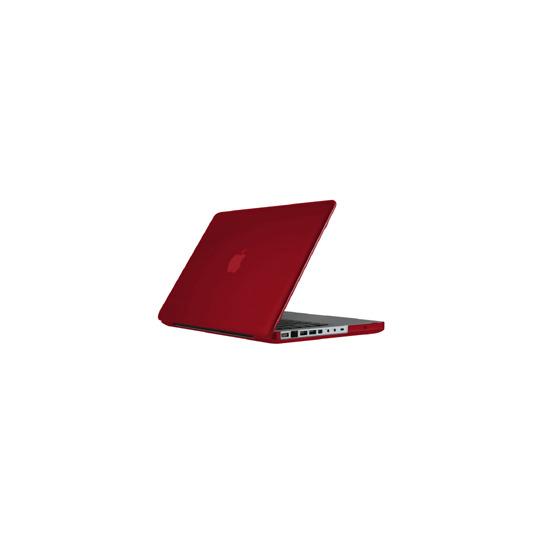 """See Thru Satin Red MacBook Pro 15"""""""