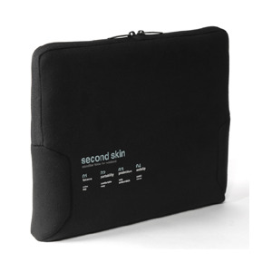 "Photo of Microfiber Script Second 15.4"" Black Laptop Bag"