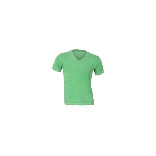Peter Werth Green V-Neck T-Shirt