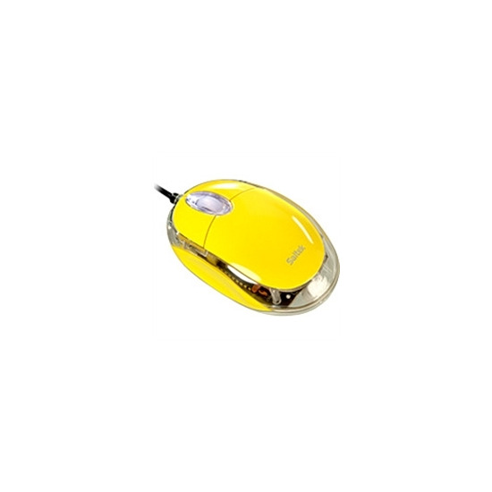 Saitek Notebook Optical Mouse - Yellow