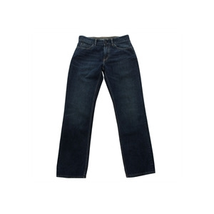 Photo of One True Saxon Jeans Mid Wash Straight Fit Jeans Man