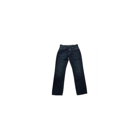 One True Saxon Jeans Mid Wash Straight Fit