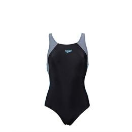 Speedo Flex 1Piece Swimsuit Black/Grey Reviews