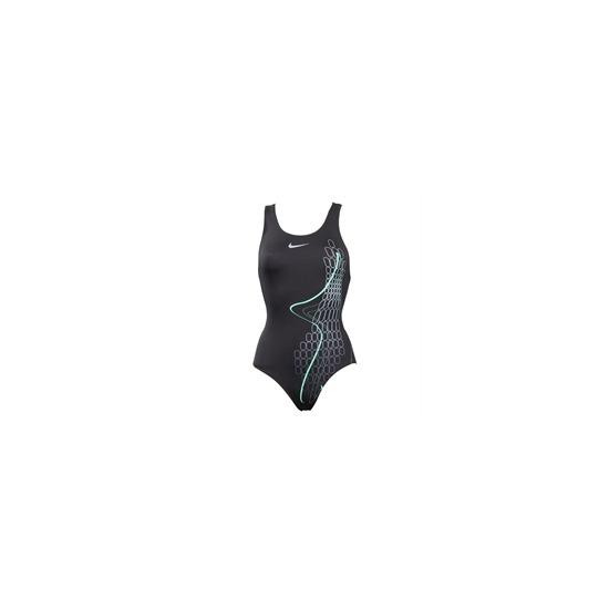 Nike fastback swimsuit - Black