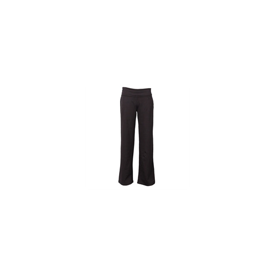 Calmia Practice Roll Top Pant - Black