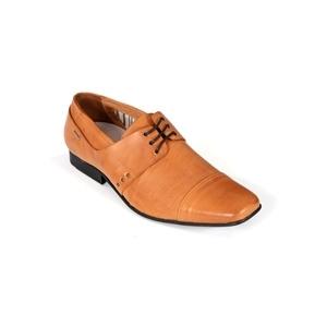 Photo of Full Circle Ancona Shoes - Tan Shoes Man