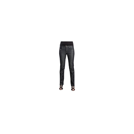 Diesel Brucke Straight Leg Indigo Wash Jeans
