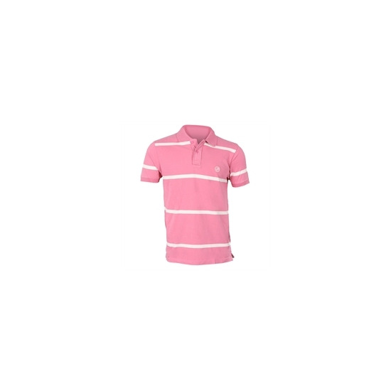 Peter Werth Pink Striped Polo