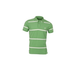 Photo of Peter Werth Green Striped Polo T Shirts Man