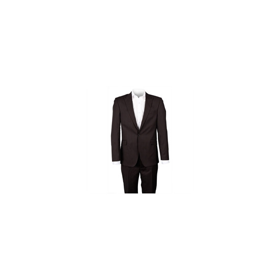 Ben Sherman Brown Single Breasted 1 Button Suit
