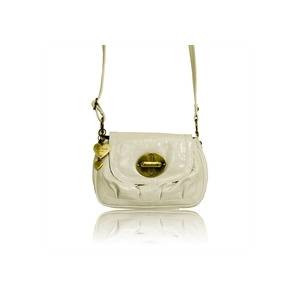Photo of Suzy Smith Small X Body Bag White Handbag