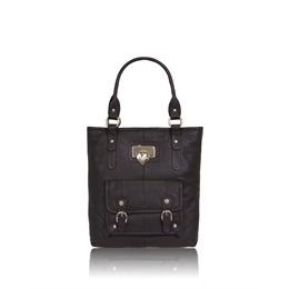 Suzy Smith Large Leather Shoulder Bag - Black Reviews