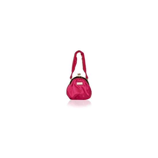 Suzy Smith Small Frame Bag Hot Pink