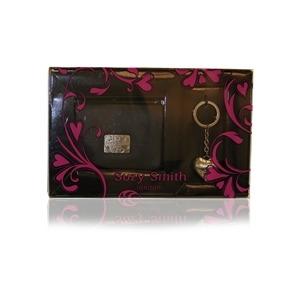 Photo of Suzy Smith Leather Purse & Keyring Gift Set Handbag